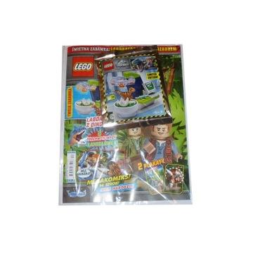 схемы журнал LEGO Jurassic World - № 04/2020 года доставка товаров из Польши и Allegro на русском