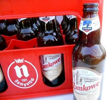 Skrzynka z 20 x0,5 l butelkami po piwie NAMYSŁOW доставка товаров из Польши и Allegro на русском