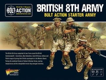 British 8th Army Bolt Action Starter Army доставка товаров из Польши и Allegro на русском