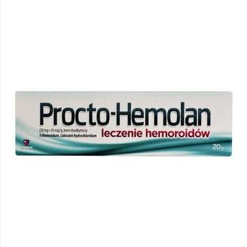 Procto Hemolan krem doodbytniczy na hemoroidy 20 g