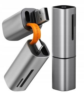 BASEUS устройство Чтения карт памяти SD микро-SD TF USB-C-USB-A 3.0 доставка товаров из Польши и Allegro на русском