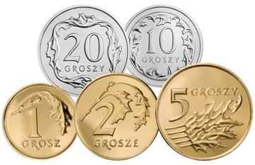 Komplet monet obiegowych 2000 r. UNC 5 sztuk доставка товаров из Польши и Allegro на русском