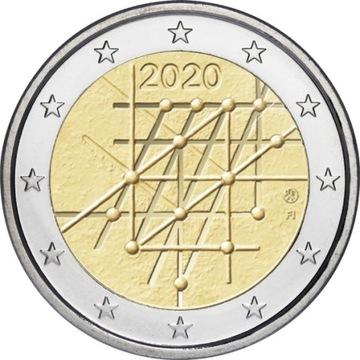 Finlandia- 2 Euro - Uniwersytet w Turku 2020 доставка товаров из Польши и Allegro на русском
