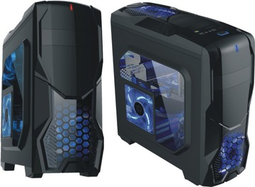 OBUDOWA Gamer PREMIUM Szyba Plexi + WENTYLATOR LED доставка товаров из Польши и Allegro на русском