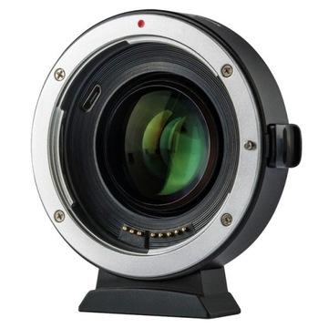 Speed Booster Viltrox EF-EOS M2 EF EF-M Canon M50 доставка товаров из Польши и Allegro на русском