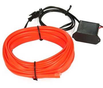 4M Оптическое волокно EL WIRE Лента Ambient Панель как ИНДИКАТОР доставка товаров из Польши и Allegro на русском