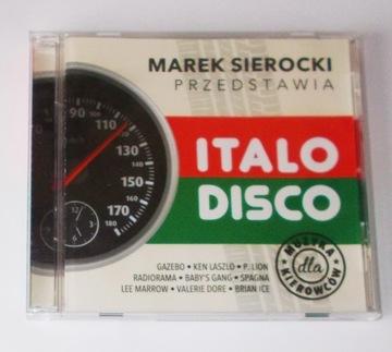 Marek Sierocki ИТАЛО-ДИСКО [CD] Sony Music доставка товаров из Польши и Allegro на русском