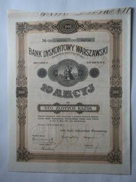 BANK DYSKONTOWY WARSZAWSKI -1000 ZŁ доставка товаров из Польши и Allegro на русском