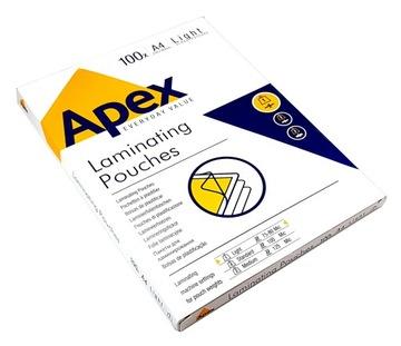 ПЛЕНКА для ламинирования позволит улучшить ЛАМИНИРОВАНИЯ A4 80mic 100 APEX доставка товаров из Польши и Allegro на русском