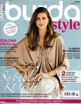 Burda style 1/2020 с wykrojami доставка товаров из Польши и Allegro на русском
