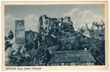 ODRZYKOŃ ruiny zamku Kamieniec ca 1935 доставка товаров из Польши и Allegro на русском