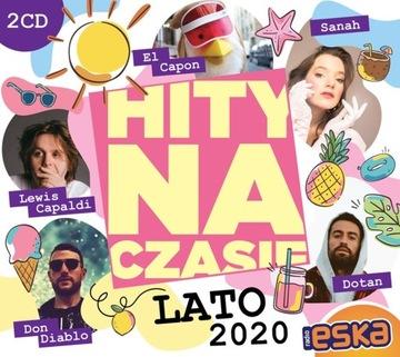 ESKA Хиты на время ЛЕТА 2020 2CD Sanah Dotan ЭНЕЙ доставка товаров из Польши и Allegro на русском