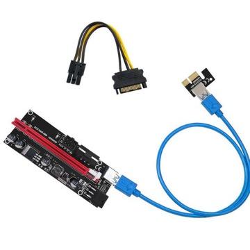Riser PCE 164P-N08 ver 009s PCI-E 1X ДО 16X доставка товаров из Польши и Allegro на русском