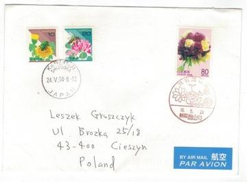 (FDC Япония 2004 цветы букеты) доставка товаров из Польши и Allegro на русском