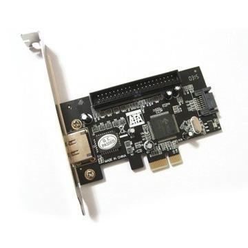 Контроллер SATA / ATA / ESATA PCI-E доставка товаров из Польши и Allegro на русском