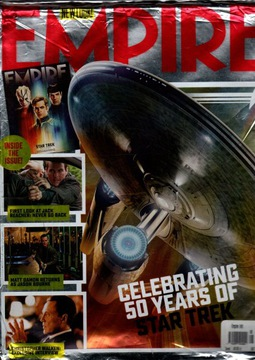 Empire Magazine #326 Август 2016 Star Trek доставка товаров из Польши и Allegro на русском