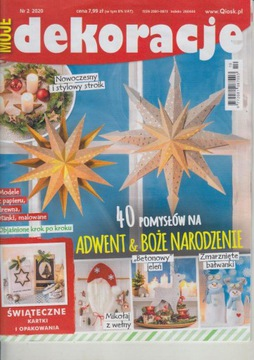 Moje dekoracje 2/2020 - Adwent i Boże Narodzenie доставка товаров из Польши и Allegro на русском