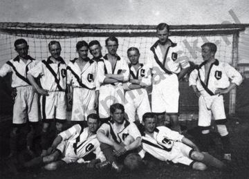 Открытка - 1917 футбольная Команда Легион доставка товаров из Польши и Allegro на русском