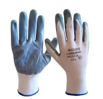Перчатки Рабочие Перчатки Нитриловые 8 М 1 пара доставка товаров из Польши и Allegro на русском