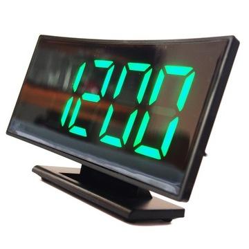 Электронный будильник - часы с будильником БОЛЬШОЙ ЖК доставка товаров из Польши и Allegro на русском