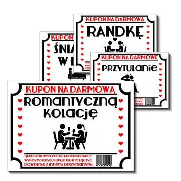 KUPONY na DZIEŃ CHŁOPAKA WALENTYNKI PREZENT доставка товаров из Польши и Allegro на русском