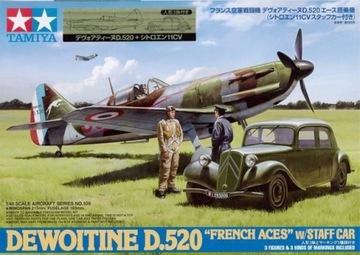 TAMIYA D. 520 FRENCH ACES В/STAFF CAR 61109 1:48 доставка товаров из Польши и Allegro на русском