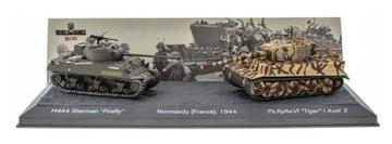 M4A4 Sherman Firefly vs Pz.Kpfw. VI Tiger - 1: 72  доставка товаров из Польши и Allegro на русском