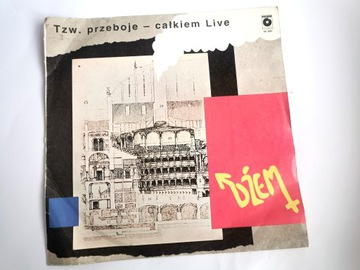 DŻEM Tzw. przeboje - całkiem Live WINYL 1988r. доставка товаров из Польши и Allegro на русском