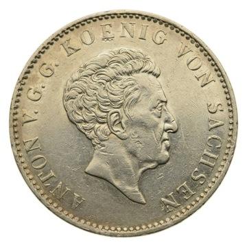 Германия - Саксония - Доллар 1832 S - Антон - Состояние 1- доставка товаров из Польши и Allegro на русском