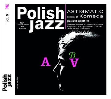 KOMEDA QUINTET - ASTIGMATIC (POLISH JAZZ) (CD) доставка товаров из Польши и Allegro на русском