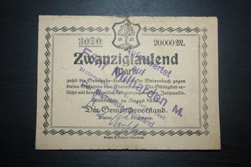DITTERSBACH WAŁBRZYCH 1923 FUNF 5 MILIARDEN MARK доставка товаров из Польши и Allegro на русском