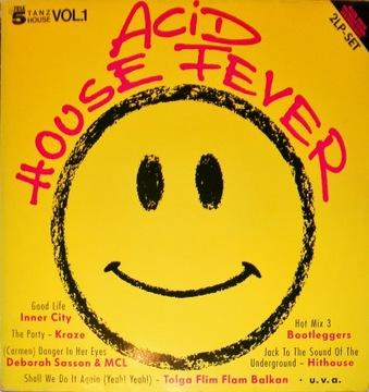 Acid House Fever 1988 SKŁ. 2x12'' Inner City доставка товаров из Польши и Allegro на русском