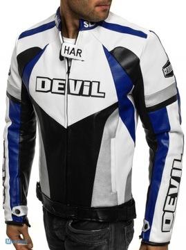 Куртка специальная одежда для мотоциклистов эко кожа XL ХАР DEVIL SLAYER доставка товаров из Польши и Allegro на русском