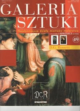 Galeria sztuki D.G.Rossetti + reprodukcja t.49 доставка товаров из Польши и Allegro на русском