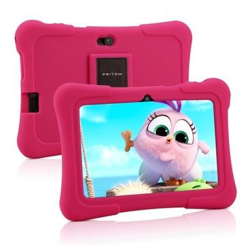 ПРИТОМ 7-дюймовый планшет для детей 16ГБ, розовый доставка товаров из Польши и Allegro на русском