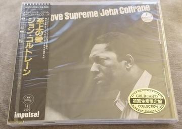 JOHN COLTRANE A LOVE SUPREME 24KT GOLD JAPAN FOLIA доставка товаров из Польши и Allegro на русском