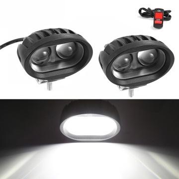Светодиодные лампы для мотоциклов лампы фары lightbar LED доставка товаров из Польши и Allegro на русском