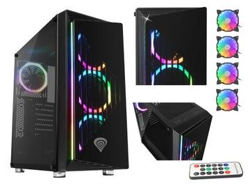 Корпус Genesis Irid 400 RGB с окном 3xLED aRGB доставка товаров из Польши и Allegro на русском