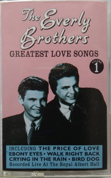 Величайшие любовные песни братьев Эверли - Том 1  доставка товаров из Польши и Allegro на русском