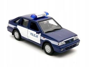 POLONEZ CARO PLUS модель Welly 1:34 полиция доставка товаров из Польши и Allegro на русском
