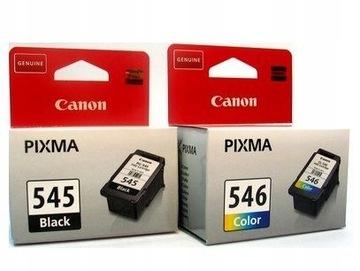 2 чернила Canon PG545 + CL546 MG2450 MG2550 MG2455 доставка товаров из Польши и Allegro на русском