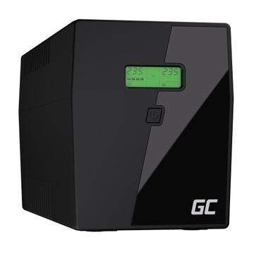 Ибп UPS 2000 ВА 1200 ВТ ЖК-дисплей + Программа! доставка товаров из Польши и Allegro на русском