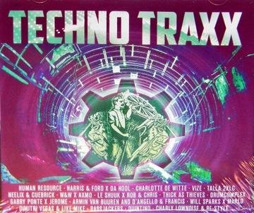 Techno Traxx 2021 2CD Talla 2XLC Армин ван Бюрен доставка товаров из Польши и Allegro на русском