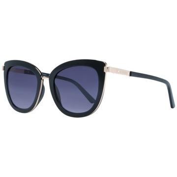 okulary damskie Guess GF6089 kocie oczy czarne доставка товаров из Польши и Allegro на русском