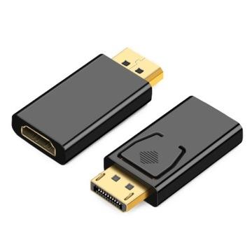 ADAPTER DISPLAY PORT DP DISPLAYPORT do HDMI доставка товаров из Польши и Allegro на русском