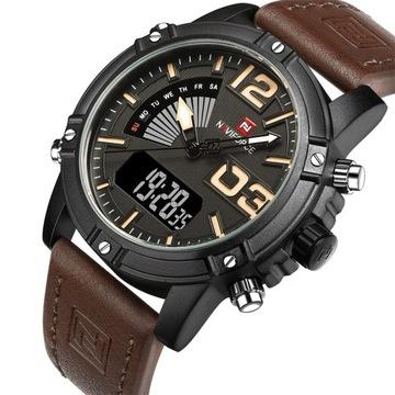 NAVIFORCE Электронные наручные Часы мужской спортивный доставка товаров из Польши и Allegro на русском
