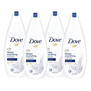 Dove Deeply Nourishing гель для душа 4 x 750 мл доставка товаров из Польши и Allegro на русском