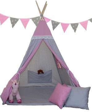 ЮРТА с firaneczką, палатки для детей-вигвам+ДОСТАВКА доставка товаров из Польши и Allegro на русском