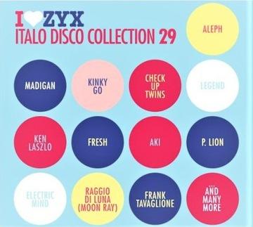 I Love ZYX Italo Disco Collection 29 2020 3CD доставка товаров из Польши и Allegro на русском