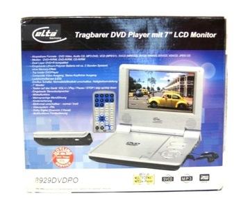Odtwarzacz DVD przenośny ELTA 8929DVDPO Car DVD доставка товаров из Польши и Allegro на русском